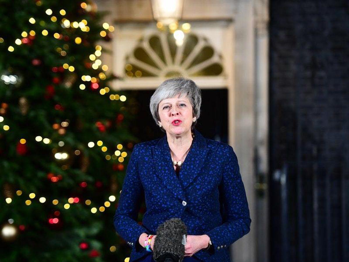Prime Minister Theresa May (Victoria Jones/PA)