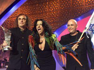 Israeli singer Dana International won the Eurovision Song Contest held at the Birmingham Indoor Arena