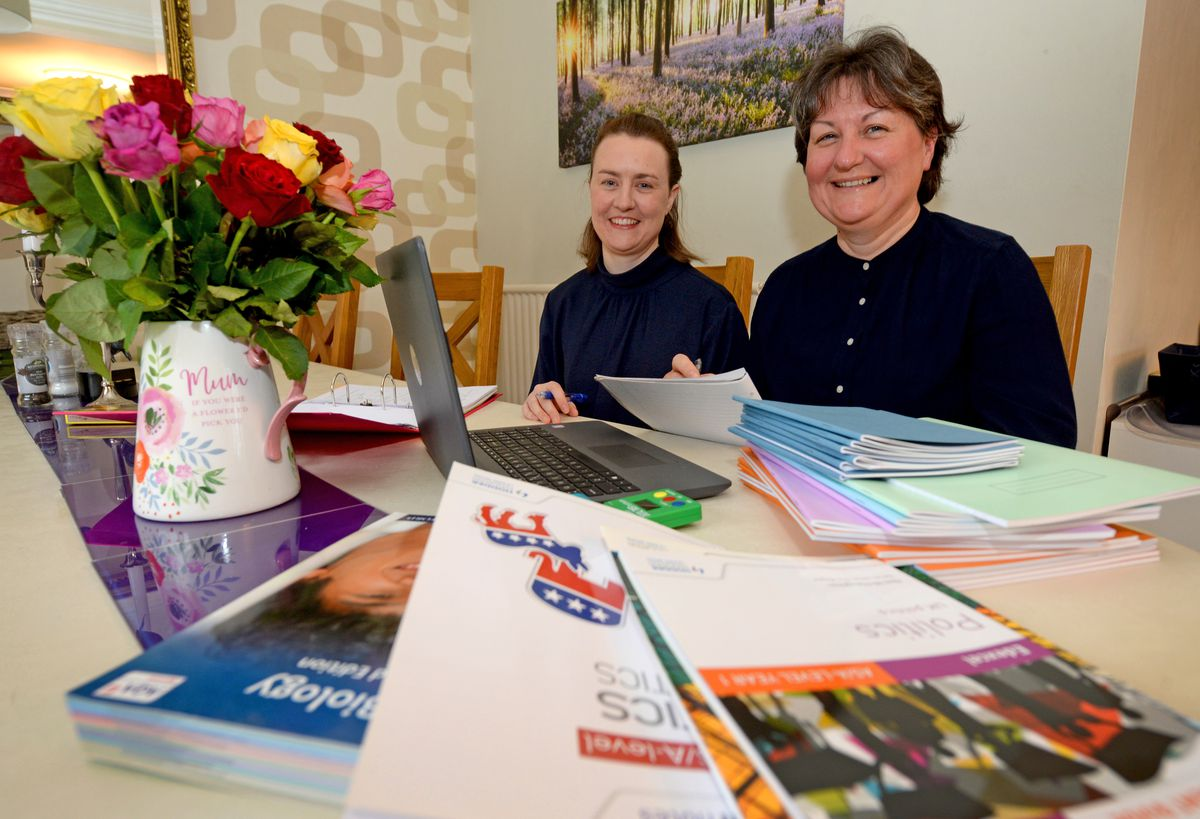 Veteran home educators Clare Berry and Hannah Hall from Stone have set up a new business to help families find tutors and to provide information, advice and support