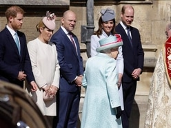 Queen attends Easter Sunday service on 93rd birthday