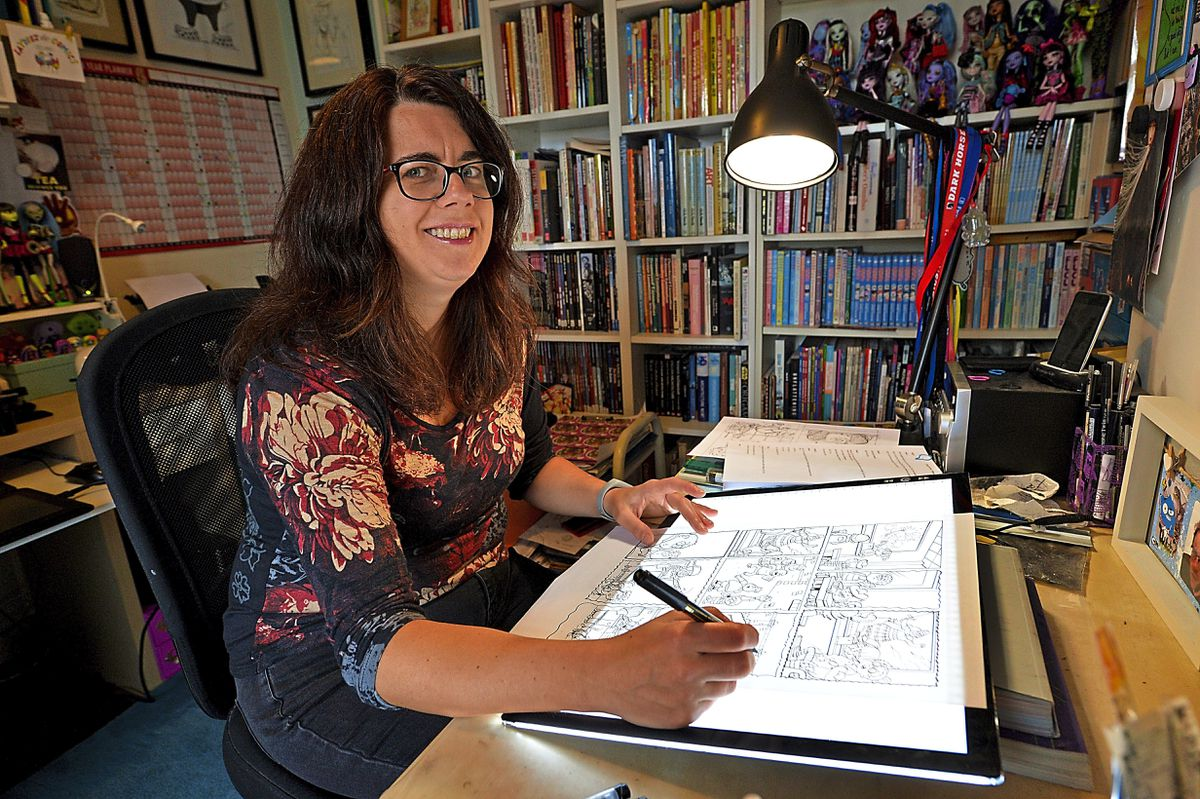 Laura Howell took a leap of faith and jumped into the colourful world of Dennis the Menace and Minnie the Minx