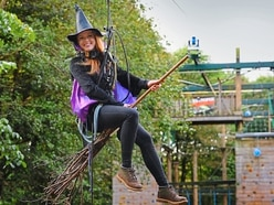 Beware low-flying witches at park