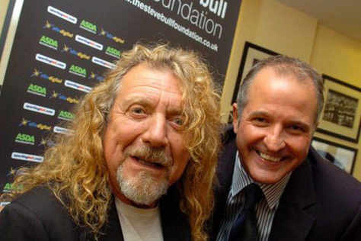 Steve Bull and Robert Plant talk charity
