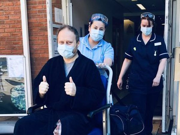 Chief Superintendent Phil Dolby eventually recovered and was able to be discharged from hospital