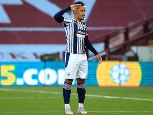 West Bromwich Albion's Matheus Pereira celebrates