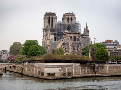 France to rebuild Notre Dame in its former likeness
