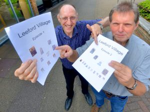 DMike Hands (writes under: Michael Braccia) from Wordsley and Jon Markes from York. Together they are writing a story about a place called Leeford Village, they write an alternate chapter each.