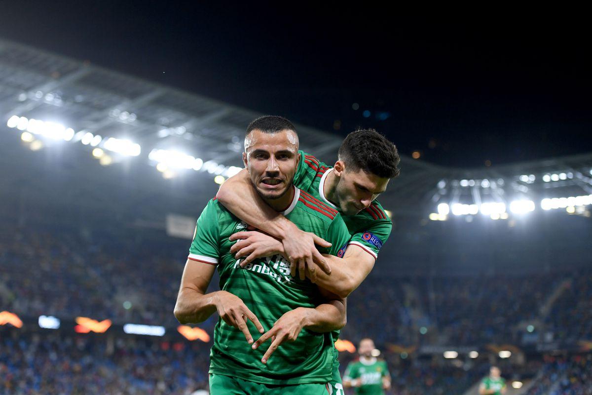 Romain Saiss of Wolverhampton Wanderers celebrates after scoring a goal to make it 1-1. (AMA/Sam Bagnall)