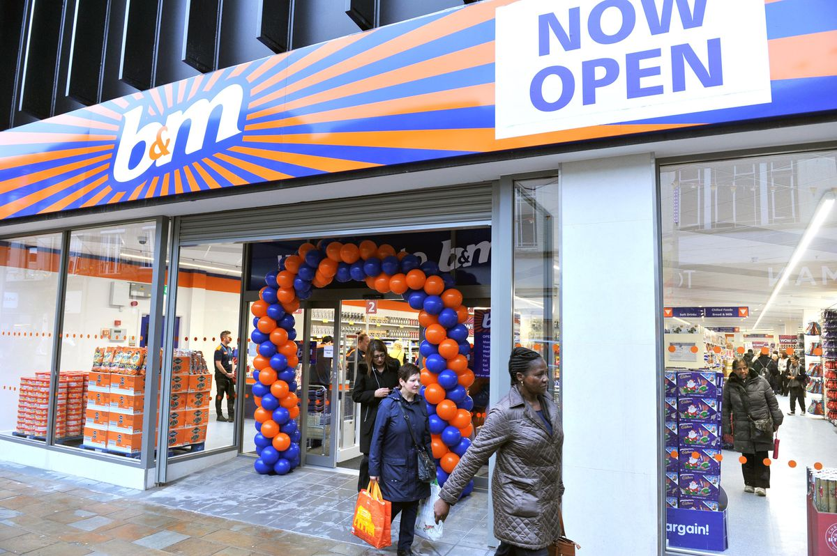 The new B&M store in Dudley Street, Wolverhampton