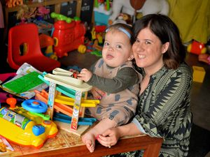 Gunner Lewis-Vale, 19 months, with his mum Holly