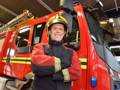 Heroic Wolverhampton firefighter recalls moment he saved five-year-old boy dangling from tower block – and now he's set to star in TV show