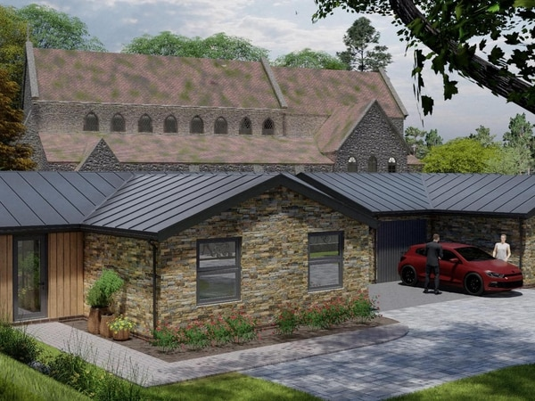 First look at proposed bungalows at Black Country church