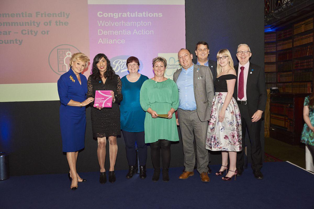 Members of the Wolverhampton Dementia Action Alliance