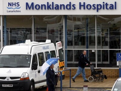 Review group on future of Monklands Hospital to report by February