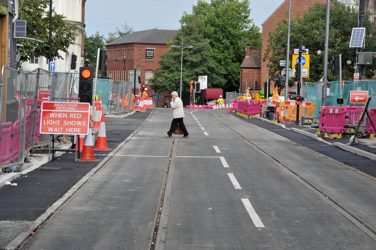 The route reopened today