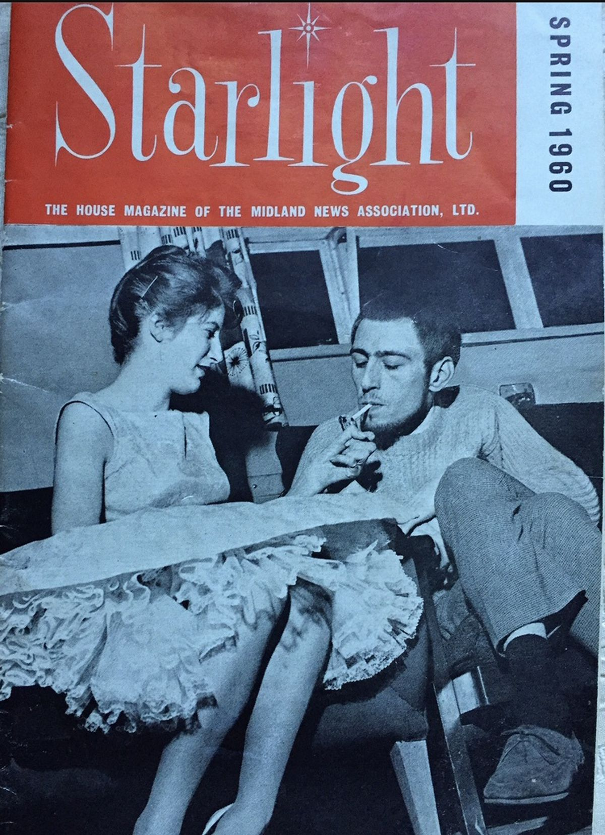 The pianist and comedian was featured on the front page of the Express and Star's magazine Starlight in 1960 (Image by Anna Keirle)