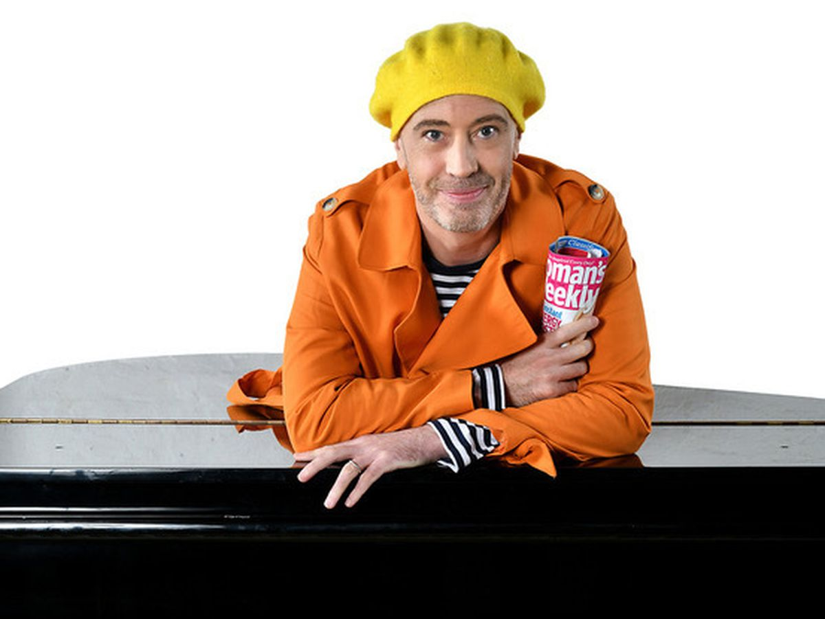 Paulus is to perform his tribute to Victoria Wood at The Hub at St Mary's. Photo: Steve Ullathorne