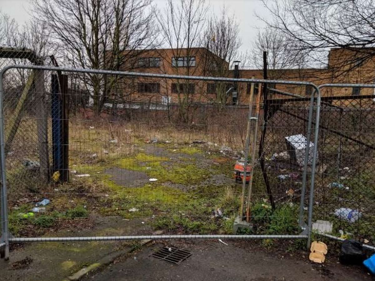 The site off Woodwards Road which has been vacant since 2016. Photo: C&S Architects