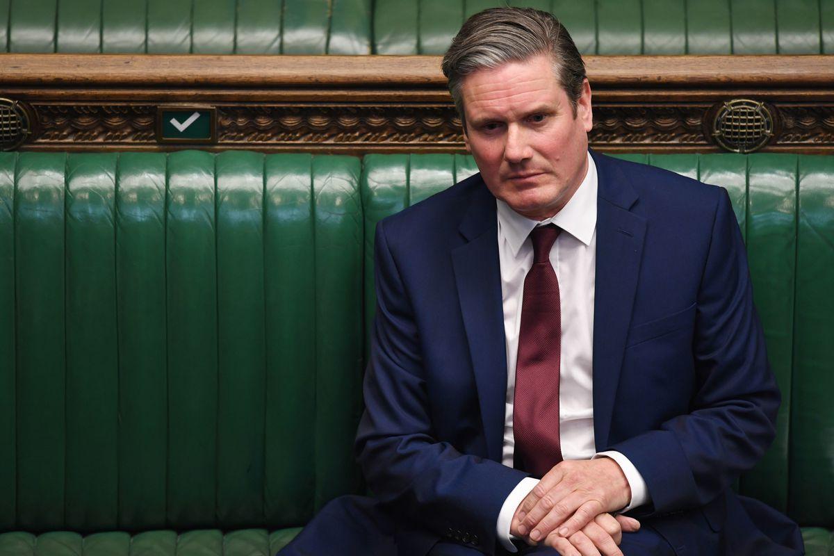 Labour leader Sir Keir Starmer