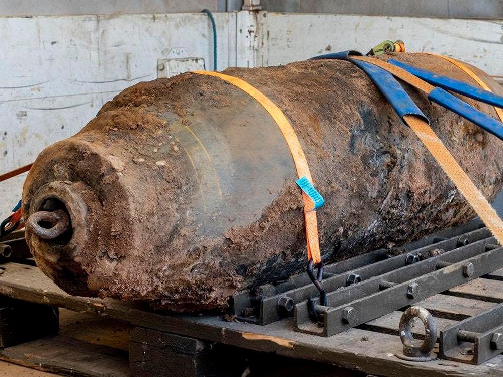 Second World War bomb defused in Germany following mass