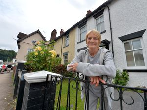 Irene Buxton of the residents' flooding committee