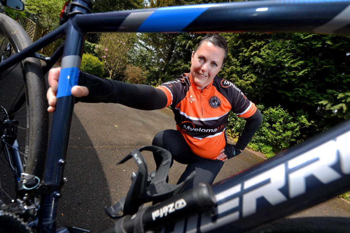 Deb Gascoyne is getting ready to ride from London to Paris to raise funds for Myeloma UK