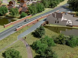 An artist's impression of what the York's Bridge could look like. Photo: Walsall Council