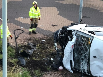 Man charged with drink driving after serious crash in West Bromwich