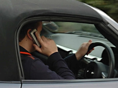 Revealed: Hundreds of motorists caught using mobile phones at the wheel
