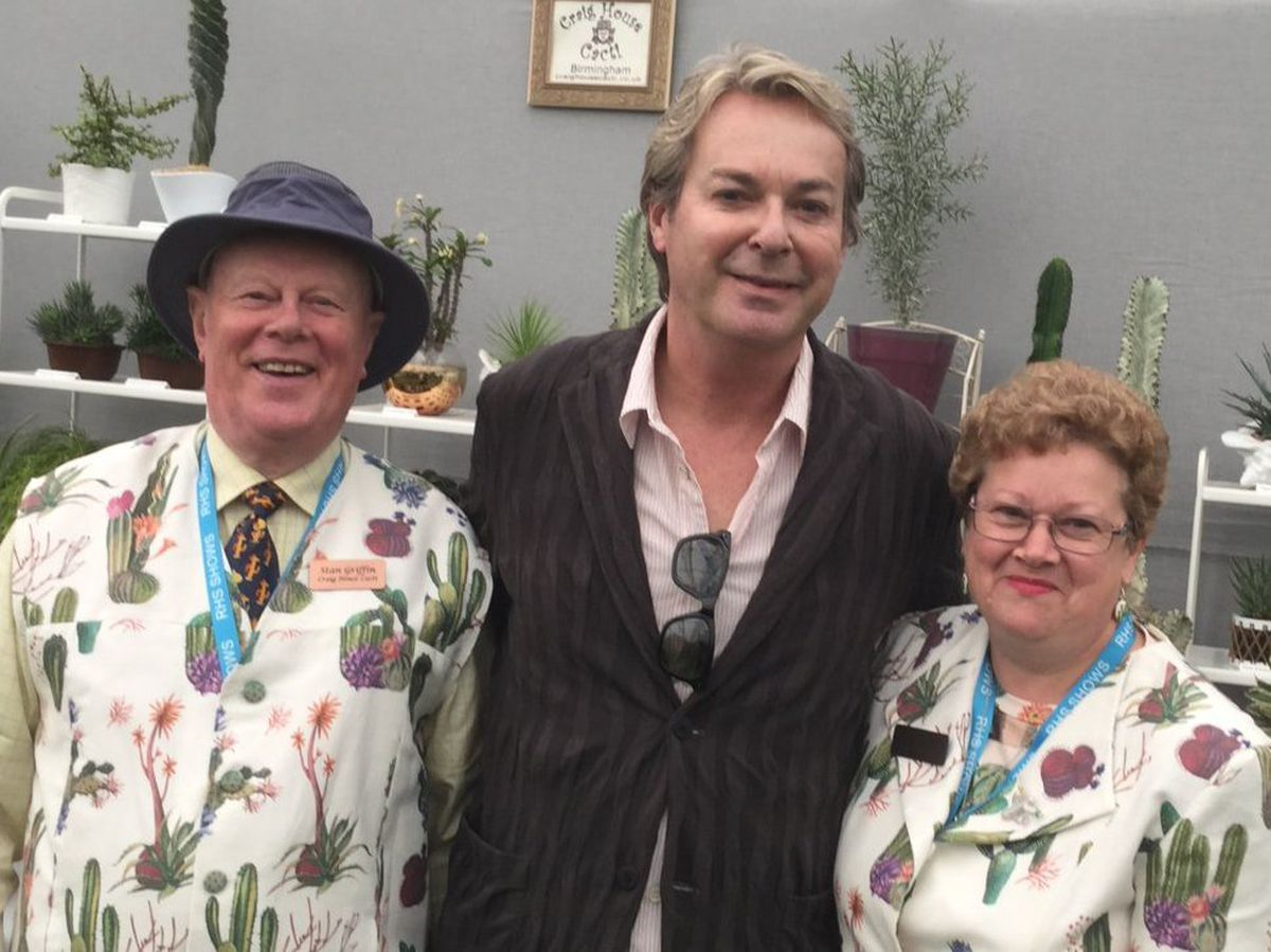 Stan said Julian Clary pops in to see the duo every year at the Chelsea Flower Show
