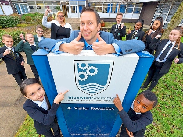 Delight as Walsall school taken out of special measures