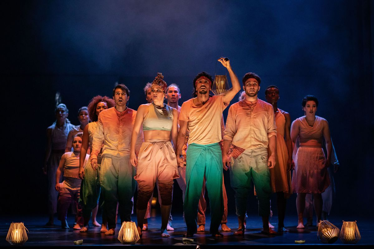 Message In A Bottle performed at Birmingham Hippodrome. Photo: Helen Maybanks