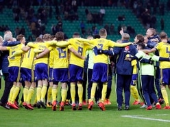 Sweden celebrated qualifying for the World Cup by absolutely destroying a San Siro TV set
