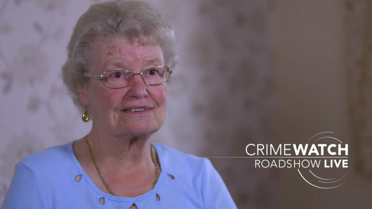 Doreen Jones, 81, spoke out about her ordeal on the Crimewatch Roadshow recently. Photo: BBC Crimewatch Roadshow