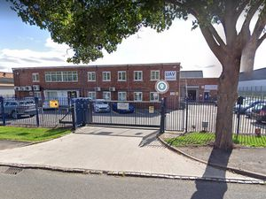 The UAV Engines factory in Lichfield