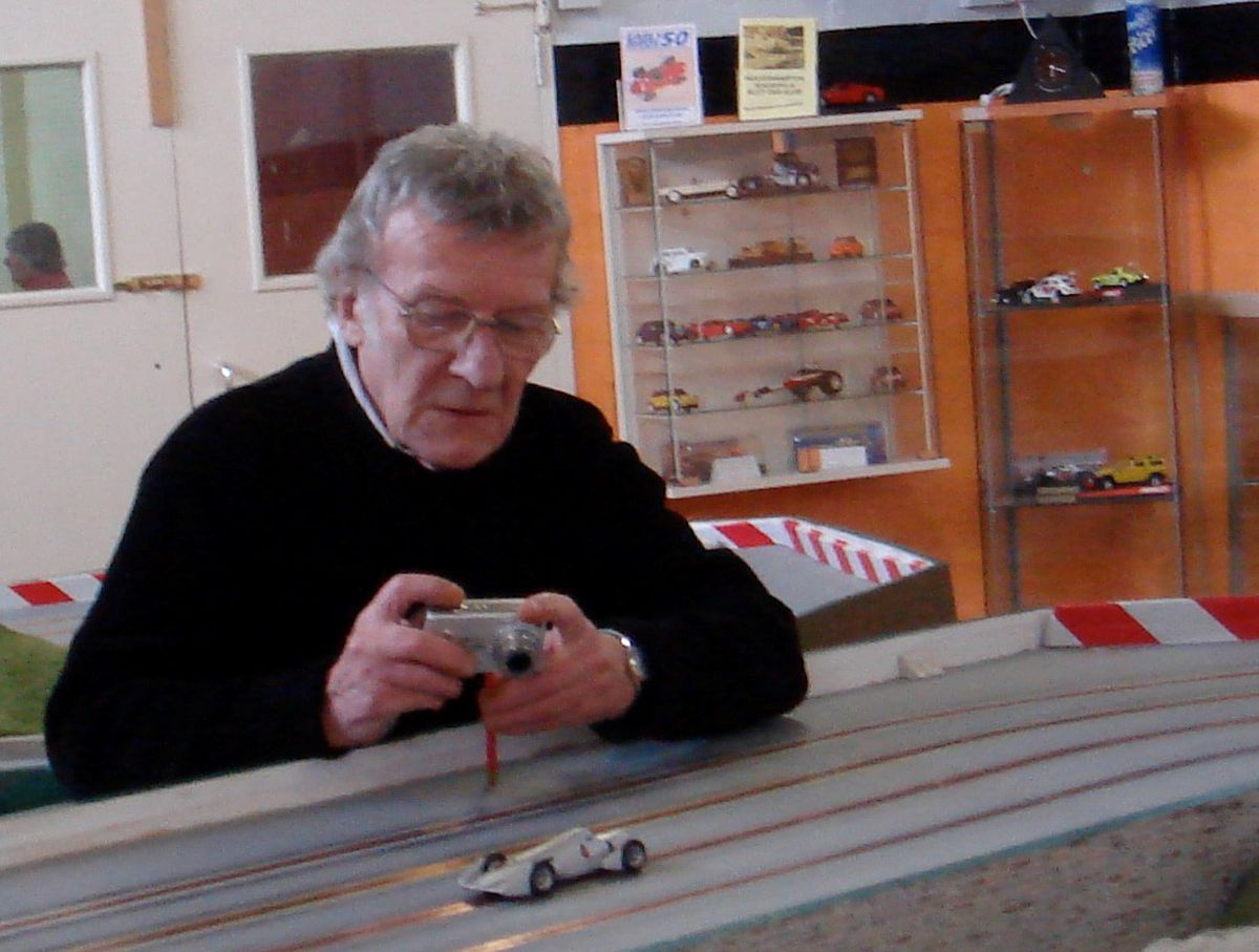 Malcolm Pinches was a member of the Wolverhampton Slot Car Club
