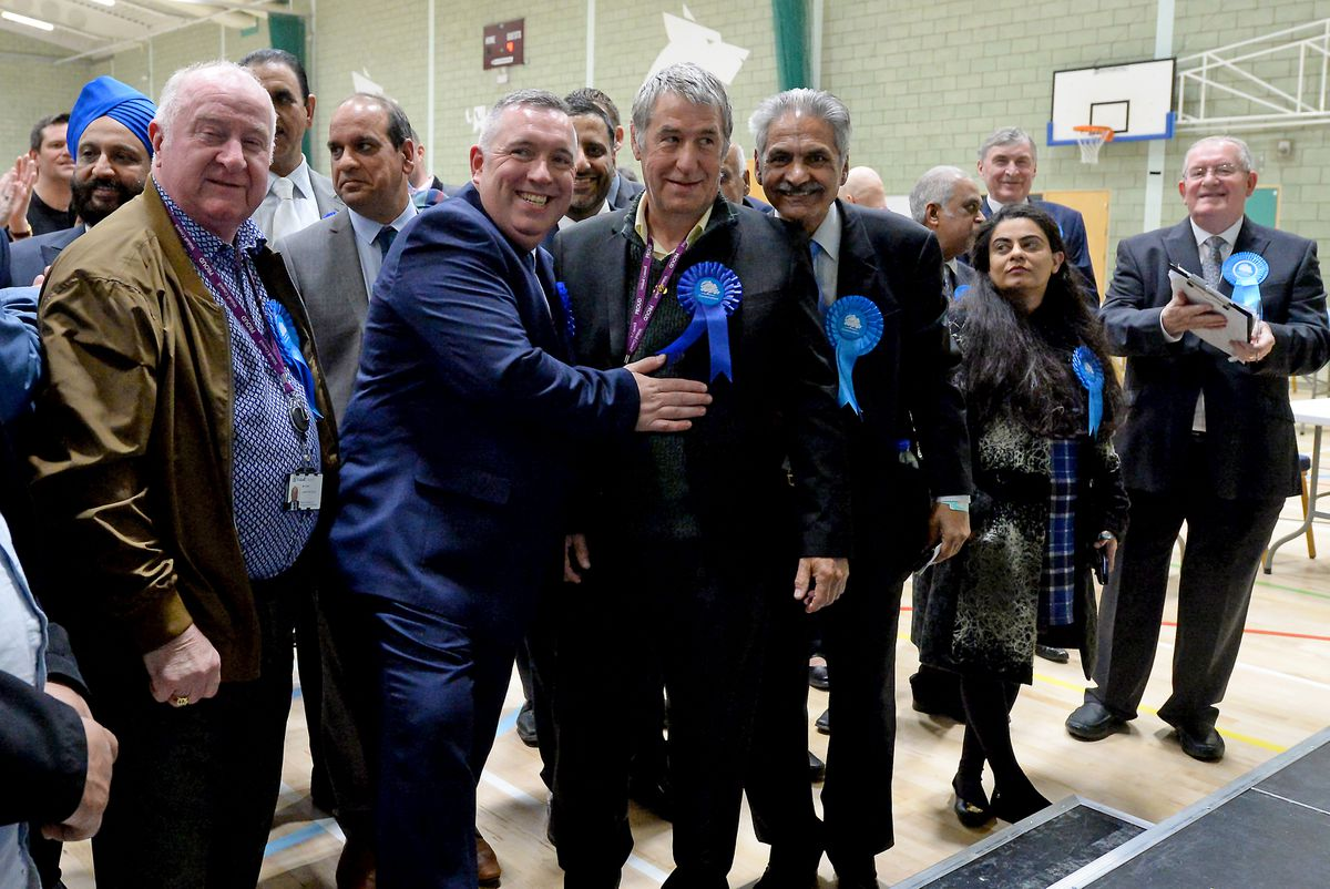 More celebrations for the Tories, who now have 32 councillors in Walsall
