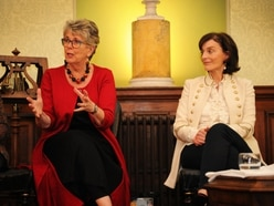 Prue Leith gives literary talk in Staffordshire