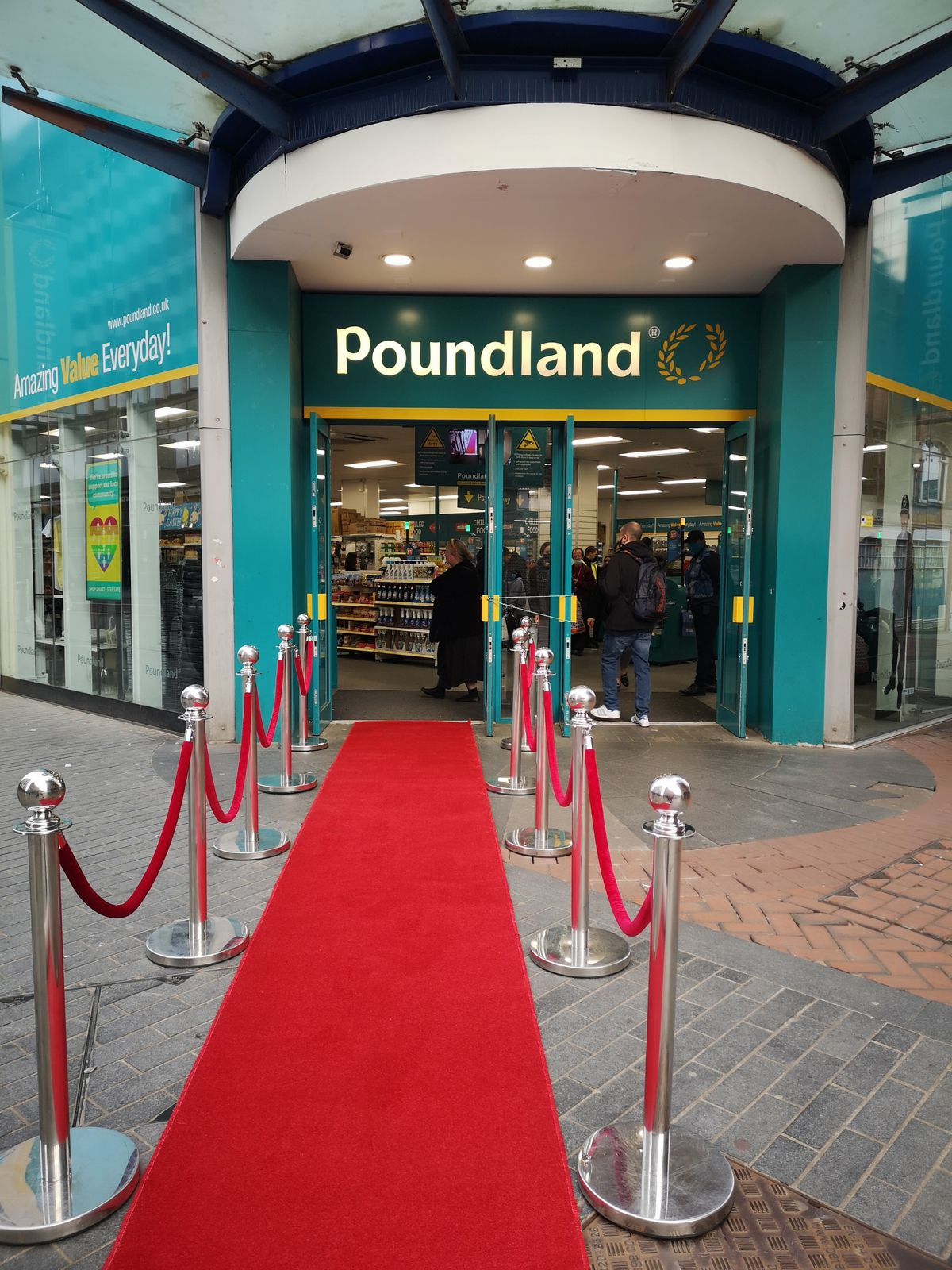 Poundland plans to rollout the red carpet for reopen hibernating stores