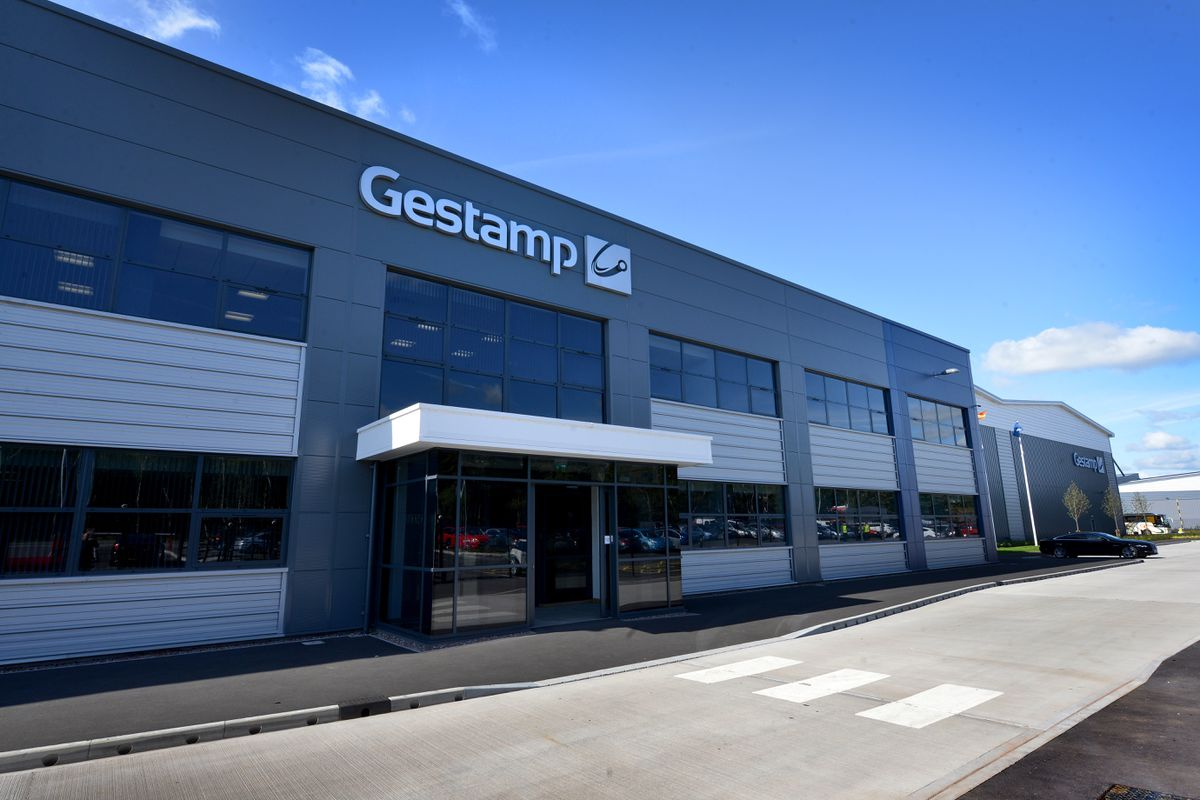 The £50m Gestamp car parts factory at Four Ashes