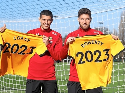Wolves stars Conor Coady and Matt Doherty sign new long-term deals