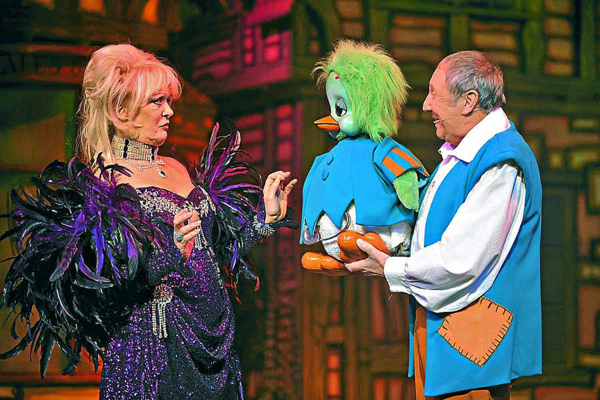 Curtain going up on Wolverhampton Grand Theatre pantomime