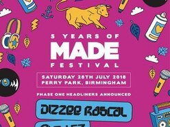 MADE Festival 2018: Chris Lorenzo, High Contrast and Preditah to join Dizzee Rascal, DJ EZ and more at Birmingham show