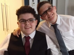 Schoolboy raises awareness of life as a carer for brother