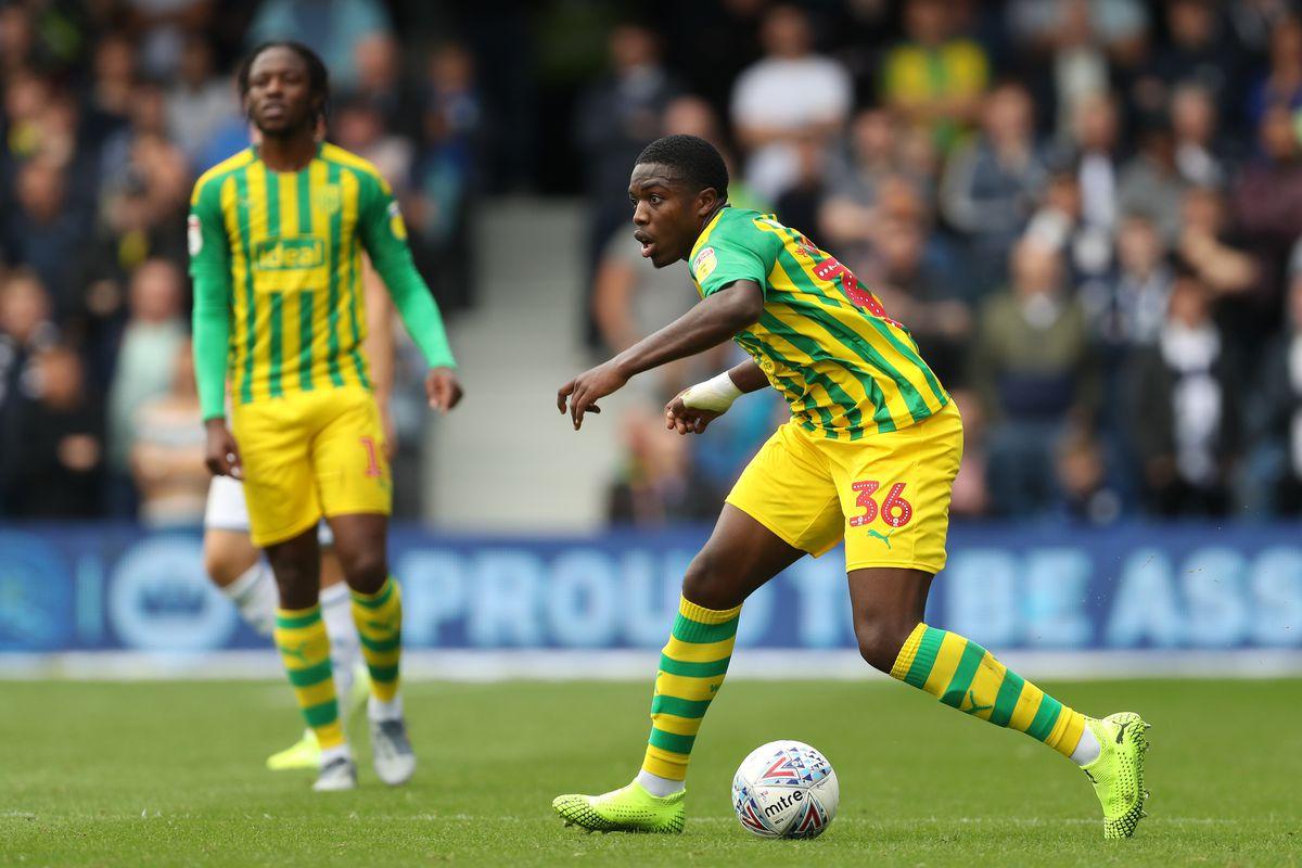 Nathan Ferguson of West Bromwich Albion. (AMA)