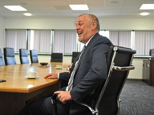 Wolverhampton Council leader Ian Brookfield has big plans for the city in the coming year