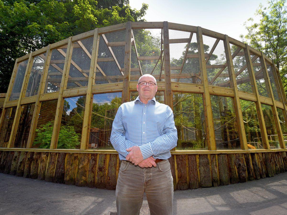 Derek Groves says Dudley Zoo is losing £50,000 a week as a result of the lockdown