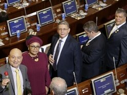 Former rebels take seats in Colombia congress