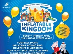 Inflatable Kingdom coming to Wolverhampton for Easter weekend