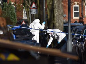 The scene where a teenage boy was killed in Handsworth